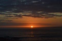 Ηλιοβασίλεμα σε Cabo Polonio Στοκ Φωτογραφία