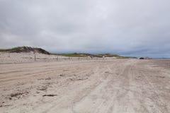 Ηλιοβασίλεμα στην παραλία αμμόλοφων άμμου στην εθνική ακτή βακαλάων ακρωτηρίων Στοκ φωτογραφίες με δικαίωμα ελεύθερης χρήσης