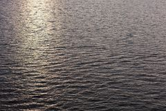 Ηλιοβασίλεμα στη Βόρεια Θάλασσα Στοκ φωτογραφίες με δικαίωμα ελεύθερης χρήσης