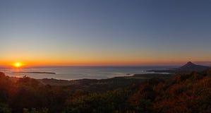 Ηλιοβασίλεμα στο Μαυρίκιο Στοκ φωτογραφίες με δικαίωμα ελεύθερης χρήσης