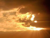 Ηλιοβασίλεμα την Τρίτη Στοκ Φωτογραφία