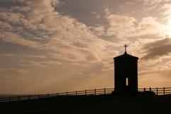 ηλιοβασίλεμα της Κορν&omicron Στοκ εικόνες με δικαίωμα ελεύθερης χρήσης