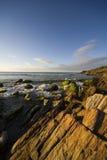 ηλιοβασίλεμα της Μαργαρίτα νησιών στοκ εικόνες
