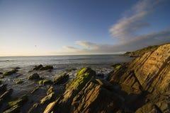 ηλιοβασίλεμα της Μαργαρίτα νησιών Στοκ φωτογραφία με δικαίωμα ελεύθερης χρήσης