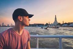 ηλιοβασίλεμα της Μπανγκόκ Στοκ Φωτογραφίες