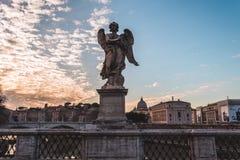 ηλιοβασίλεμα της Ρώμης στοκ εικόνες