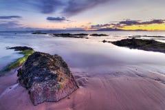 Ηλιοβασίλεμα της Σκωτίας   στοκ εικόνες