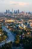 ηλιοβασίλεμα της Angeles Los Στοκ εικόνες με δικαίωμα ελεύθερης χρήσης