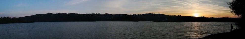 ηλιοβασίλεμα τοπίων στοκ φωτογραφία με δικαίωμα ελεύθερης χρήσης