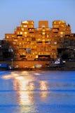 ηλιοβασίλεμα του Μόντρε Στοκ Εικόνα