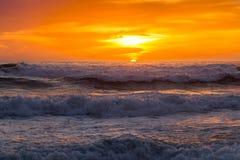 Ηλιοβασίλεμα του Σαν Ντιέγκο στοκ εικόνες