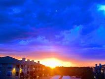 Ηλιοβασίλεμα του Τέξας στοκ εικόνες