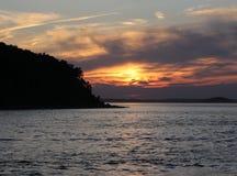 Ηλιοβασίλεμα 2 του Hull Στοκ Εικόνες