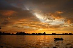ηλιοβασίλεμα 01 Στοκ Φωτογραφίες