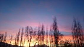 Ηλιοβασίλεμα Στοκ εικόνες με δικαίωμα ελεύθερης χρήσης