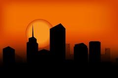 ηλιοβασίλεμα 15 απεικόνιση αποθεμάτων
