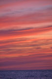 ηλιοβασίλεμα 2 θάλασσα&sigma Στοκ Φωτογραφίες
