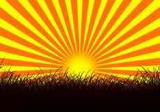 Ηλιοβασίλεμα ελεύθερη απεικόνιση δικαιώματος