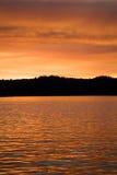 ηλιοβασίλεμα 8 λιμνών Στοκ φωτογραφία με δικαίωμα ελεύθερης χρήσης