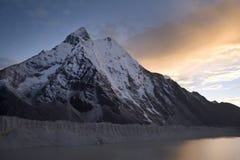 ηλιοβασίλεμα ama dablam Στοκ εικόνες με δικαίωμα ελεύθερης χρήσης