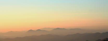 ηλιοβασίλεμα anboto Στοκ Φωτογραφίες