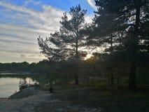 Ηλιοβασίλεμα Bawsey στοκ εικόνα με δικαίωμα ελεύθερης χρήσης