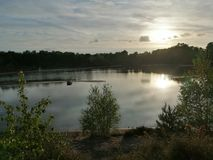 Ηλιοβασίλεμα Bawsey στοκ εικόνες