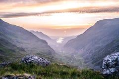 Ηλιοβασίλεμα IV Snowdonia στοκ φωτογραφία με δικαίωμα ελεύθερης χρήσης