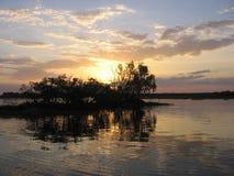 ηλιοβασίλεμα kakadu s Στοκ φωτογραφία με δικαίωμα ελεύθερης χρήσης
