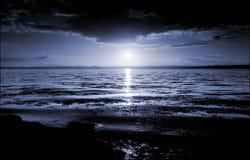ηλιοβασίλεμα tay UK της Σκωτ Στοκ Φωτογραφίες