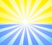 ηλιοφάνεια ήλιων Στοκ Εικόνες