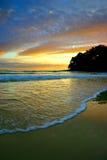 ηλιοφάνεια ακτών της Αυσ&t στοκ φωτογραφίες
