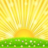 ηλιοφάνεια διανυσματική απεικόνιση