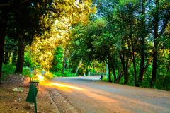 Ηλιόλουστη ημέρα σε Gorica Podgorica Στοκ φωτογραφία με δικαίωμα ελεύθερης χρήσης
