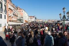 Ηλιόλουστη ημέρα στη Βενετία Ιταλία Στοκ εικόνα με δικαίωμα ελεύθερης χρήσης