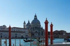 Ηλιόλουστη ημέρα στη Βενετία Ιταλία Στοκ φωτογραφίες με δικαίωμα ελεύθερης χρήσης