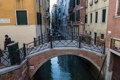 Ηλιόλουστη ημέρα στη Βενετία Ιταλία Στοκ εικόνες με δικαίωμα ελεύθερης χρήσης