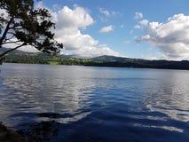 Ηλιόλουστη ημέρα στη λίμνη Windermere Στοκ φωτογραφίες με δικαίωμα ελεύθερης χρήσης