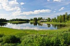 Ηλιόλουστη θερινή ημέρα Στοκ φωτογραφίες με δικαίωμα ελεύθερης χρήσης