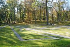 Ηλιόλουστη όμορφη ημέρα στο πάρκο Στοκ φωτογραφίες με δικαίωμα ελεύθερης χρήσης
