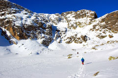 ηλιόλουστος χειμώνας βουνών Στοκ φωτογραφία με δικαίωμα ελεύθερης χρήσης