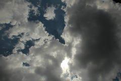 Ηλιόλουστο σύννεφο Στοκ Φωτογραφία