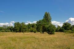 Ηλιόλουστο τοπίο Karosta, Liepaja, Λετονία Στοκ Εικόνες