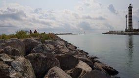 Ηλιόλουστο φως νερού θάλασσας Στοκ φωτογραφίες με δικαίωμα ελεύθερης χρήσης