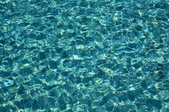 ηλιόλουστο ύδωρ κυματώσεων ημέρας ωκεάνιο Στοκ Εικόνες
