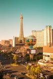 Ηλιόλουστο Las Vegas Strip άποψης στοκ εικόνα με δικαίωμα ελεύθερης χρήσης
