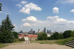 Ηλιόλουστο Vilnius στοκ φωτογραφίες