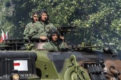 Ημέρα Ένοπλων Δυνάμεων στην Πολωνία Στοκ φωτογραφίες με δικαίωμα ελεύθερης χρήσης