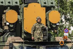 Ημέρα Ένοπλων Δυνάμεων στην Πολωνία Στοκ φωτογραφία με δικαίωμα ελεύθερης χρήσης