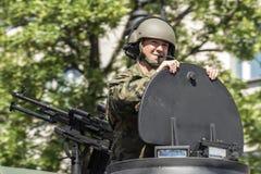 Ημέρα Ένοπλων Δυνάμεων στην Πολωνία Στοκ Εικόνα